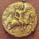 Gold Coin of the Gupta king Chandragupta II