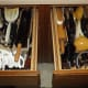 Two more utensil drawers at my fiance's parents house.