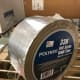Skrim Tape (Polyken 338) is another type of foil tape that is reinforced with threading making it very durable and must be cut with scissors or a knife rather than torn by hand. Great for ductboard and flexible ducts.