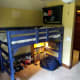 I made my daughter's loft bed from scratch.