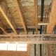 Figure 2: Floor joists connecting to a load-bearing wall.