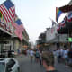 Bourbon Street is a street in the heart of New Orleans' oldest neighborhood, the French Quarter