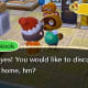 Tom Nook is the townsperson to see every time you want to expand your home.