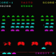 Space Invaders Part 2, also known as Space Invaders in color.