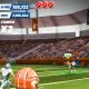"Gameplay in ""Flick Quarterback."""