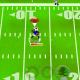 "Gameplay in ""Football Hero."""