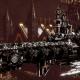 Adeptus Astartes Cruiser - Strike Cruiser MK.III (Raven Guards Sub-Faction)
