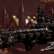 Adeptus Astartes Cruiser - Strike Cruiser MK.III (Iron Hands Sub-Faction)