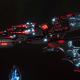 Aeldari Corsair Cruiser - Eclipse [Void Dragon - Sub-Faction]
