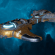 """Tau Merchant Fleet Destroyer - """"Messenger"""" - [T'au Sub-Faction]"""