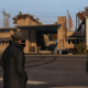 """The """"Ferris Halstead Library"""" looking like a . . . well a library. In real-life it's more of an out-in-the-middle-of-nowhere kind of location, but there are residences nearby. This is more likely due to the freeroam map's condensation."""