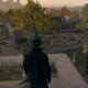 A screenshot overlooking the cemetery from that one raised area in-game, and it has a strange Central Park New York City vibe. This is either based on some other cemetery or it's another artistic aesthetic on the dev's part. The real St. Joseph's is