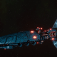 Craftworld Asuryani Light Cruiser - Ghost Wraithship [Alaitoc - Eldar Sub-Faction]