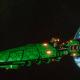 Craftworld Asuryani Light Cruiser - Ghost Wraithship [Biel-Tan - Eldar Sub-Faction]