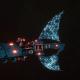 Asuryani Light Cruiser - Firestorm Wraithship [Alaitoc - Eldar Sub-Faction]