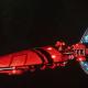 Asuryani Light Cruiser - Firestorm Wraithship [Saim-Hann - Eldar Sub-Faction]
