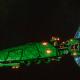 Asuryani Light Cruiser - Firestorm Wraithship [Biel-Tan - Eldar Sub-Faction]