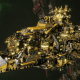 "Ork Battleship - ""Deadnot OrdzGargDaka"" - [Bad Moons Sub-Faction]"