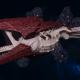 "Tyranid Battle Cruiser - ""Corrosive Clutch Devourer"" - [Kraken Sub-Faction]"