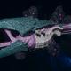 "Tyranid Battle Cruiser - ""Corrosive Clutch Devourer"" - [Tiamet Sub-Faction]"