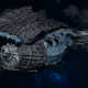 "Tyranid Battle Cruiser - ""Corrosive Tentacles Devourer"" - [Ouroboris Sub-Faction]"