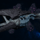 "Tyranid Battle Cruiser - ""Corrosive Clutch Devourer"" - [Ouroboris Sub-Faction]"