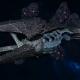 "Tyranid Battle Cruiser - ""Devourer"" - [Ouroboris Sub-Faction]"