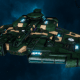 "Tau Protector Fleet Cruiser - Lar'Shi'Vre ""Protector"" Vior'La - [Dal'yth Sub-Faction]"