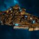 "Tau Protector Fleet Cruiser - Lar'Shi'Vre ""Protector"" T'Olku - [T'au Sub-Faction]"