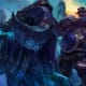 Braum has a shield that blocks projectiles, and is great for protecting your carry.