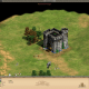 The first castle to the north, finished and littered with the corpses of enemies.