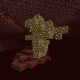 Glowstone can be found in clusters in the Nether and can be gathered with a pickaxe.