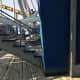Under the Roller Coaster platform.