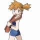 Misty in the video games.