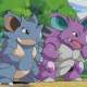 Nidoqueen and Nidoking