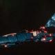 Asuryani Cruiser - Ghost Dragonship [Alaitoc - Eldar Sub-Faction]