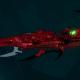 Drukhari Raider Light Cruiser - Dark Mirror - [Ynnari Sub-Faction]