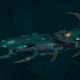 Drukhari Raider Light Cruiser - Burning Scale - [Broken Sigil Sub-Faction]