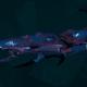 Drukhari Raider Light Cruiser - Bladed Lotus - [Dying Sun Sub-Faction]