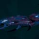 Drukhari Raider Light Cruiser - Baleful Gaze - [Dying Sun Sub-Faction]