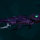 Drukhari Raider Light Cruiser - Dark Mirror - [Last Hatred Sub-Faction]
