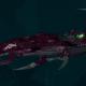Drukhari Raider Light Cruiser - Baleful Gaze - [The Severed Sub-Faction]