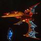 Aeldari Corsair Destroyer - Nightshade [Sun Blitz - Eldar Sub-Faction]