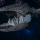 "Tyranid Frigate - ""Clutch Kraken"" - [Ouroboris Sub-Faction]"