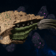 "Tyranid Cruiser - ""Bio Projectile Razorfiend"" - [Gorgon Sub-Faction]"