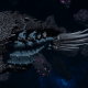 "Tyranid Cruiser - ""Bio Corrosive Razorfiend"" - [Ourobris Sub-Faction]"