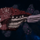"Tyranid Cruiser - ""Bio Projectile Razorfiend"" - [Kraken Sub-Faction]"