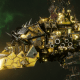 "Ork Light Cruiser - ""Basha Urd Unki"" - [Bad Moons Sub-Faction]"