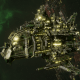 "Ork Battle Cruiser - ""Hammer"" - [Blood Axes Sub-Faction"