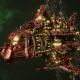 "Ork Battle Cruiser - ""Hammer"" - [Evil Sunz Sub-Faction"